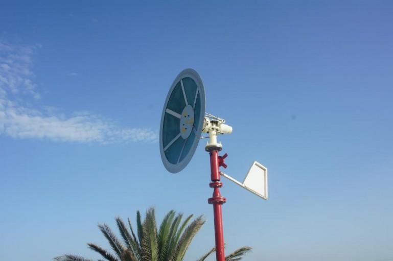 Saphonian tiivikuteta tuuleturbiin