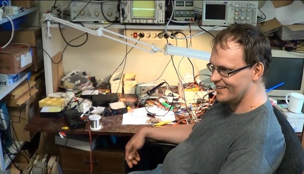 Katsetamine Martin Jaanuse juures laboris