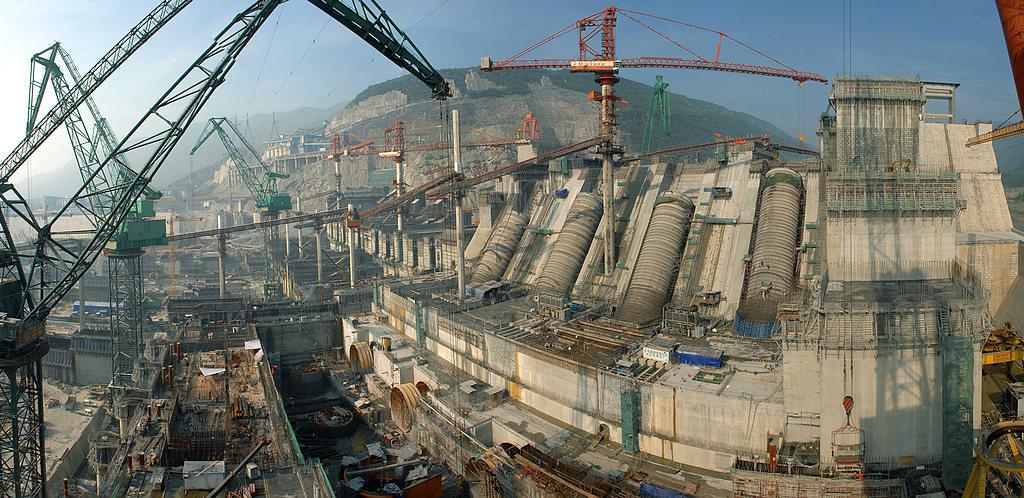 Xiangjiaba hüdroelektrijaama ehitus