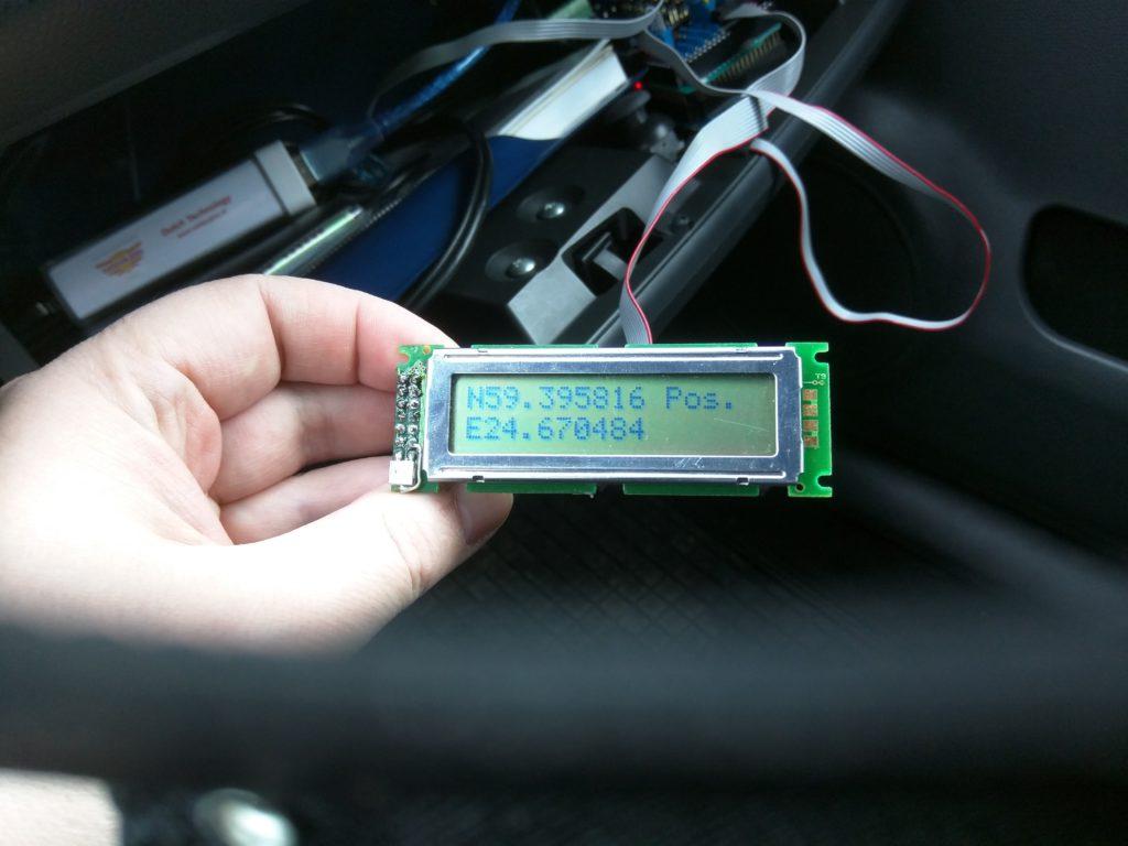 GPS töötab (Y)