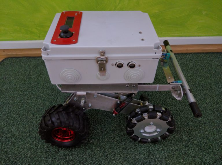Robot valmis