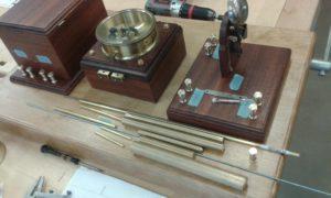 Marconi vastuvõtja materjalide valik ja koheereri hoidja-regulaator
